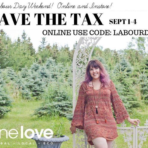 No Tax Sale this Labour Day weekend!