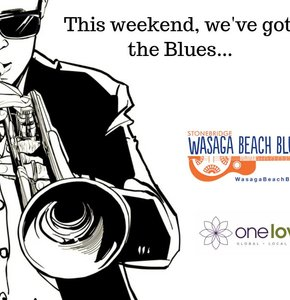 This weekend we've got the BLUES