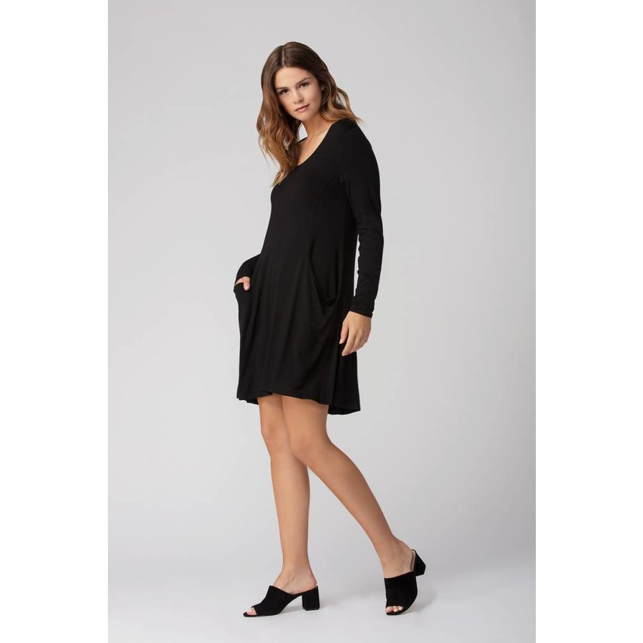 LNBF Bamboo Pocket Tunic Dress