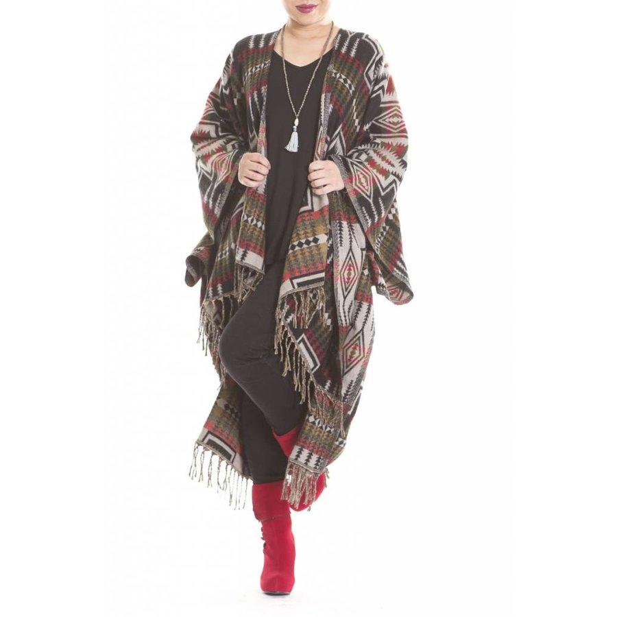 Bukeela Wool Poncho