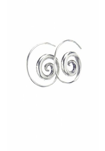 Rounded Spiral Earring