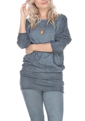 Mineral Wash Stretch Tunic