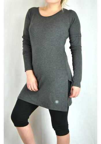 OneLove Side Split Long Sleeve Tunic