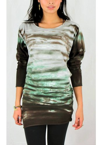 Rock Cotton Tie Dye Stretch Tunic