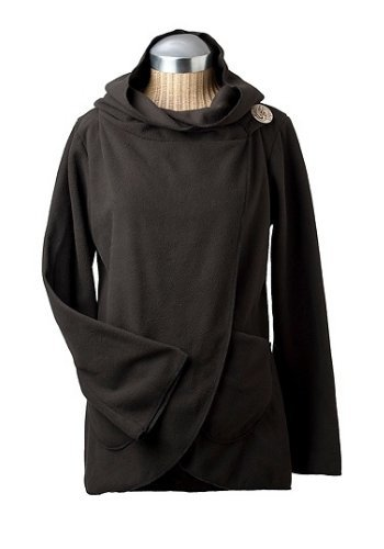 Fleecia Hooded Wrap
