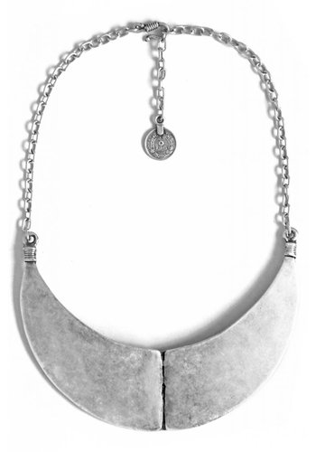 Turkish Silver Yaz Collar Necklace