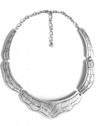 Turkish Silver Ziya Collar Necklace