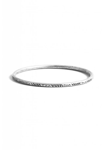 Turkish Silver Kaya Bangle