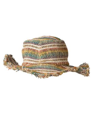 Ark Imports Ark Wire Rim Hemp Hat- Stripes