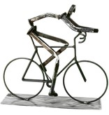 Road Biker Sculpture