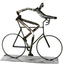 Road Biker Sculpture