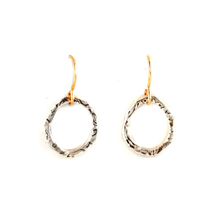 Small Hoop w. 14/20 Goldfill Earwire Earrings
