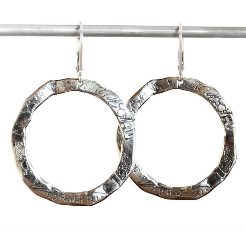 Pete's Menu Hoop Earrings