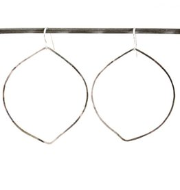 Petal Heather Hoop Earrings