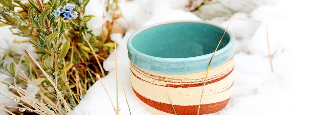 Alanna Hughes Pottery Handmade Sierra Mug