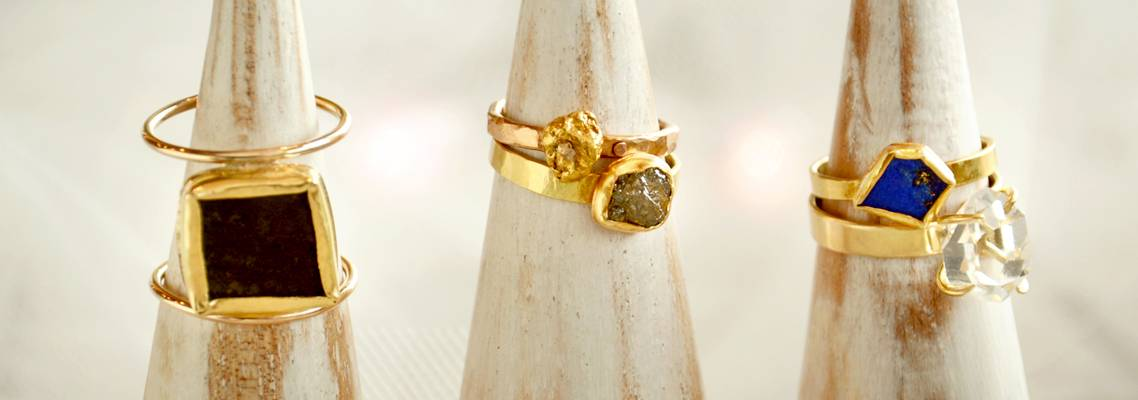 Sondrea Larsen Handmade Gold Rings