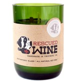 Rescued Wine Candle