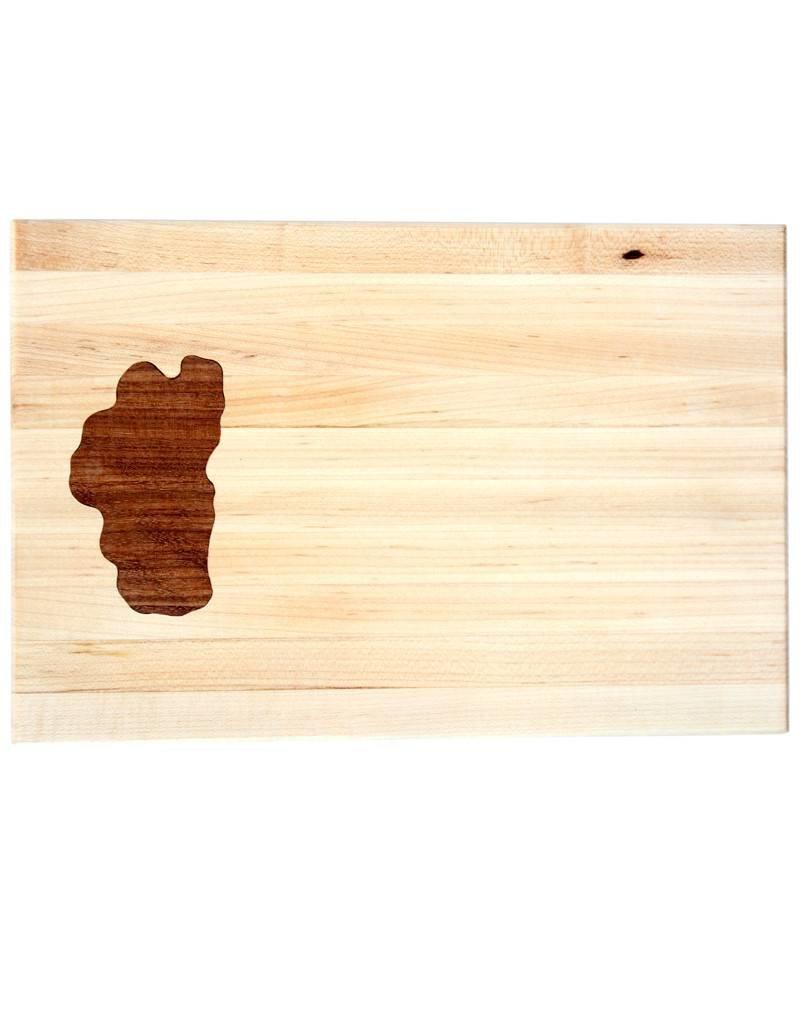 Small Lake Tahoe Wooden Cutting Board