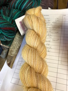 Alpaca Yarn, Buttercream, Lace