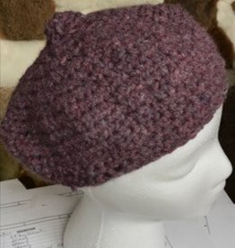 Alpaca Hat, Purple Tam