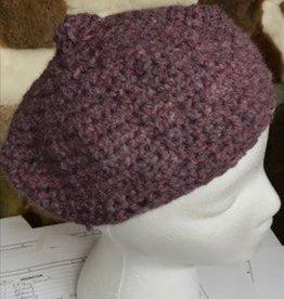 Alpaca Hat, Purple Tam