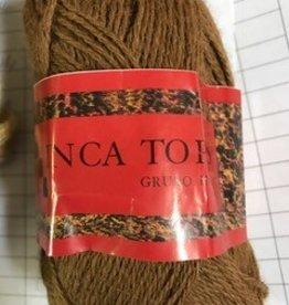 Sale Alpaca Yarn, Brown, Inca Top  Lace/Fingerling