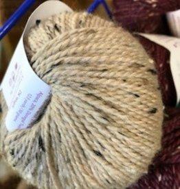 Alpaca Yarn, Tan Tweed, DK