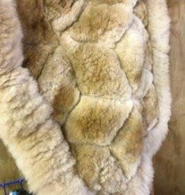 "Alpaca Rug, 18"" x 24"", Fawn, No Backing"