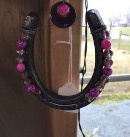 Horseshoes, Decorative, Pink Beads
