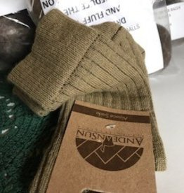 Alpaca Socks, Women's  Camel Pants Socks