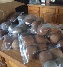 Alpaca Dryer Balls,  100% Alpaca Fiber