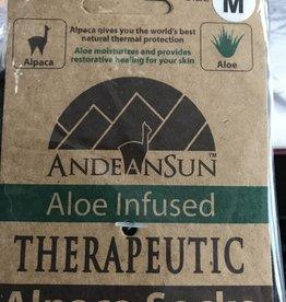 Alpaca Socks, Therapeutic Unisex Medium Blk