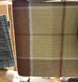 Blanket, Brown Plaid