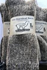 Alpaca Socks, Survival Sock, Crew Length