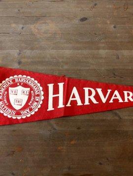 Vintage Harvard Pennant