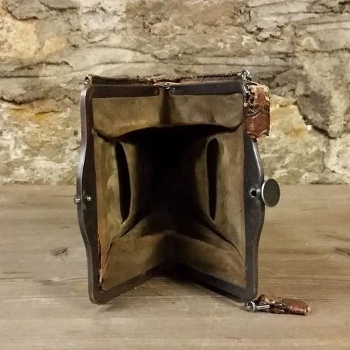 1920's Tooled Bag