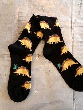 Tacosaurus Crew Socks