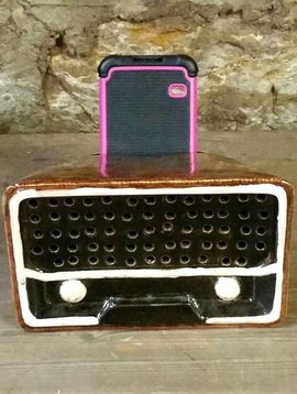 Transistor Radio Cell Phone Speaker