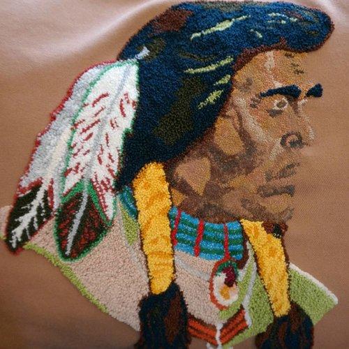 Native American Vintage Pillow