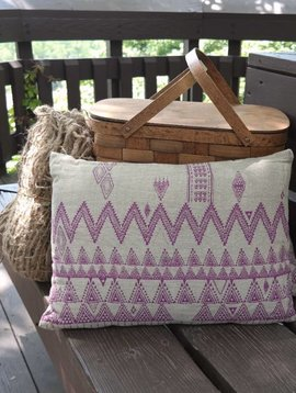 Rose Tribal Pillow