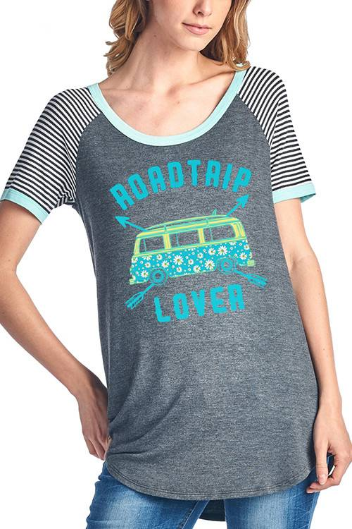 Roadtrip Lover Top