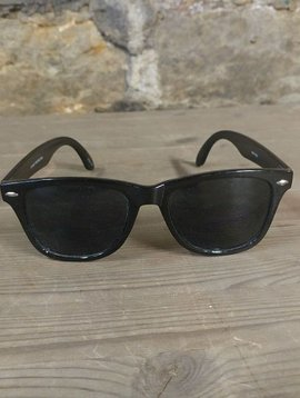 Wayfarer Style Black Sunglasses
