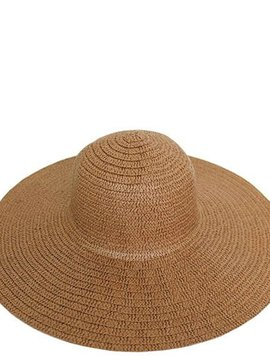 Mocha Floppy Sun Hat