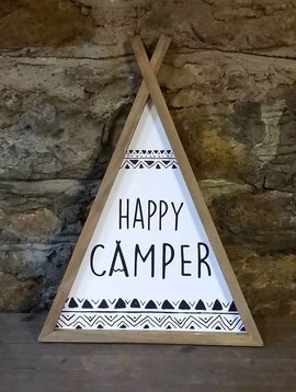 Happy Camper Tee Pee