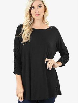 Rosie Ruched Sleeve Top