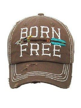Born Free Ball Cap Brown