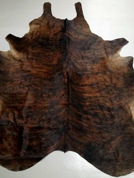 Red Brindle Cowhide 2118