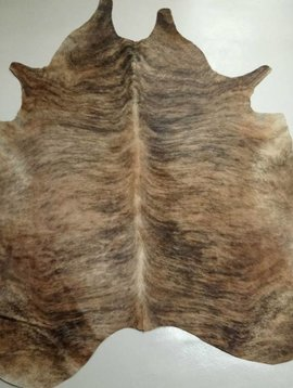 Brown Brindle Cowhide 2127