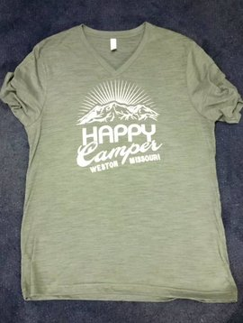 Happy Camper Vneck T