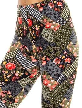 Floral Patch Legging